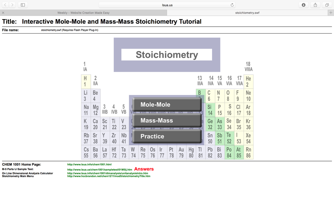 Stoichiometry Chemistry Digital Learning – Mass-mass Stoichiometry Worksheet